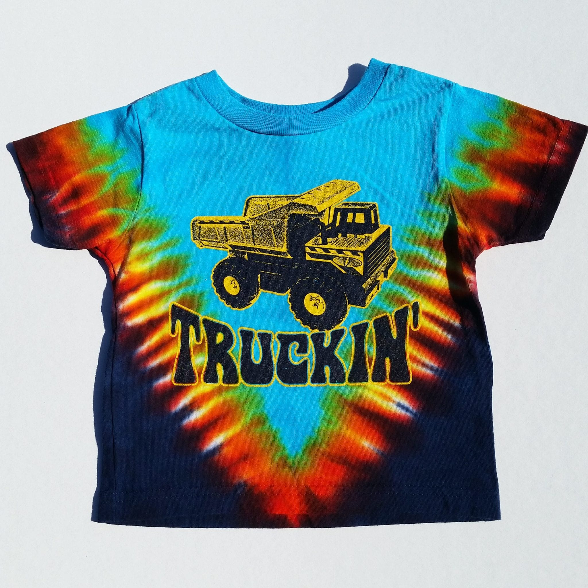 f85ca770 Truckin' toddler youth kids tie-dye t-shirt - Grateful Dead and ...