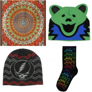 Officially Licensed Grateful Dead merchandise