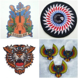 All pins, patches, stickers